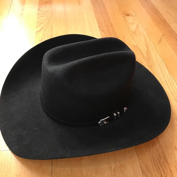 STETSON 4X FELT APACHE COWBOY WESTERN HAT